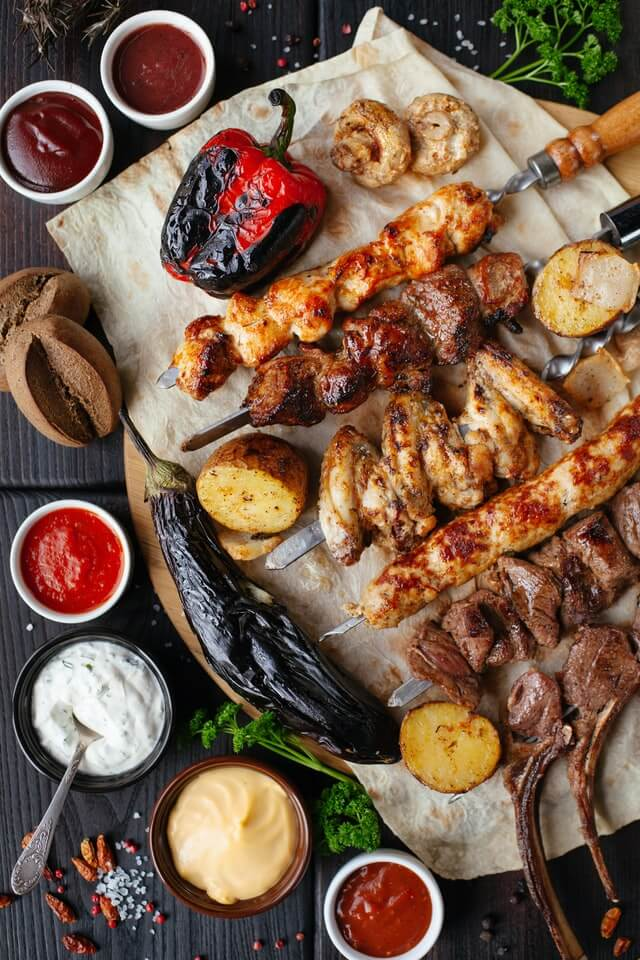 platter of meat and vegetables healthy diet high testosterone